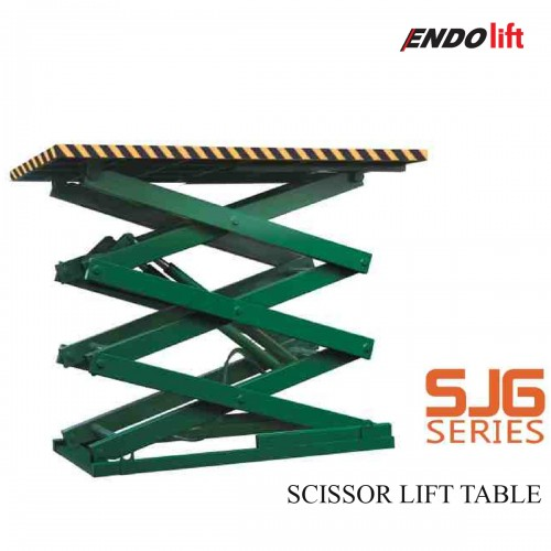 SJG-SERIES - SCISSOR LIFT TABLE