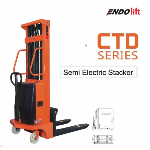 CTD SERIES - SEMI ELECTRIC STACKER